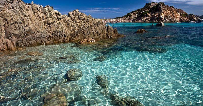 Sailing around south of Sardinia